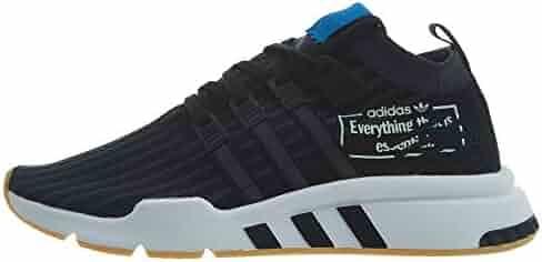 premium selection 75b9e f86bf adidas Mens Originals EQT Support Mid Adv Casual Shoes Mens B37413 Black
