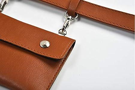Black Women Waist Belt Bag Leather Fanny Pack Removable Pouch Travel Cell Phone Bag Waist Bag