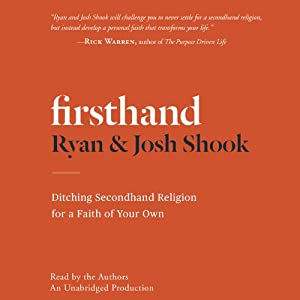 Firsthand Audiobook