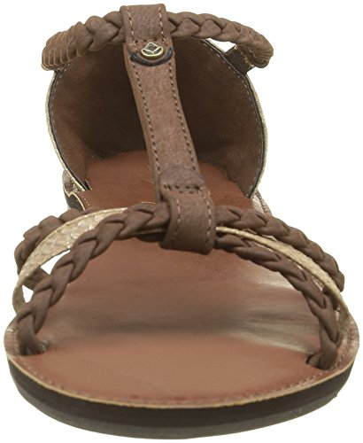 Brown Champagne Multicoloured Women's Sandals Black Reef Silver Naomi 4vw0fO