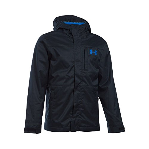 Under Armour Boys' Storm Wildwood 3-in-1 Jacket, Black/Bl...