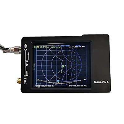 VNA - Vector Network Analyzer 50KHz -900MHz HF VHF UHF Antenna Analyzer Measuring S Parameters, Voltage Standing Wave Ratio, Phase, Delay, Smith Chart