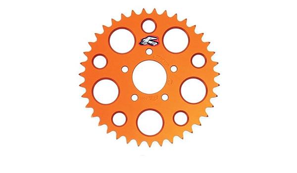 RHK Alloy Rear Sprocket Orange 51T for KTM150 SX 2009-2019