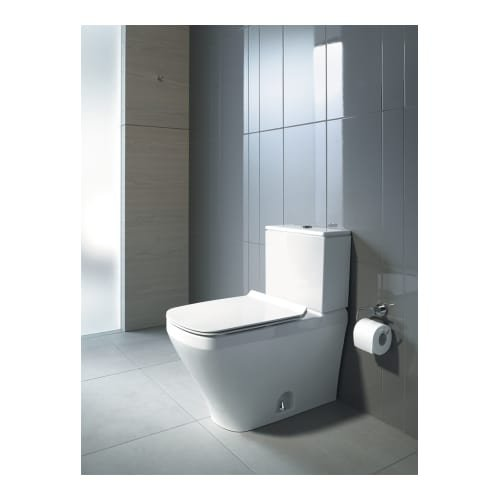 Dual Flush 14 5//8 x 27 1//2 Bowl Only Duravit 2160010000 Durastyle One-Piece Toilet Bowl with 12 Rough-In