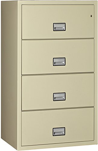 28. Phoenix Lateral 31 inch 4-Drawer Fireproof File Cabinet
