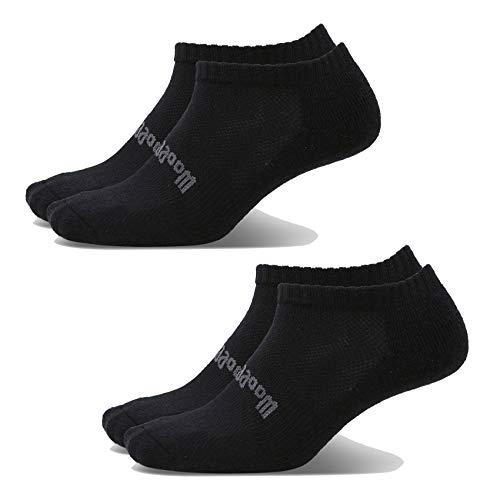 Woolly Clothing Merino Wool Ankle Air Sock - [ 2 Pairs ] - Moisture wicking, anti-odor, go anywhere sock