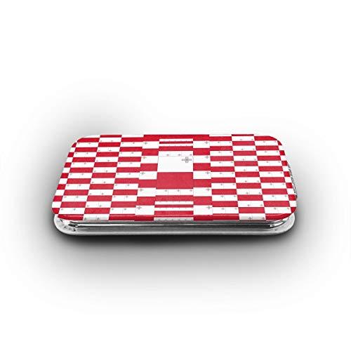 MEILVWEN Malta Flag Mini Pocket Mirror Portable Folding Cosmetic Mirror 1X & -