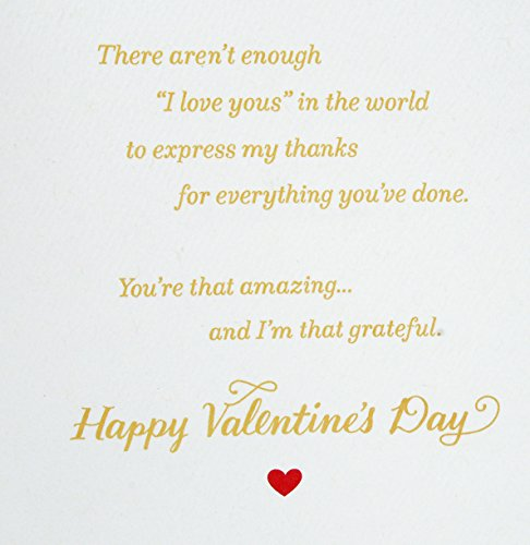 Hallmark Valentine's Day Greeting Card for Mother (Love You Mom) Photo #5