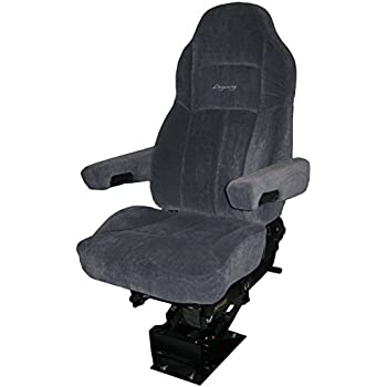 Amazon com: Legacy Silver Air-ride Seat | Microfibre with D2