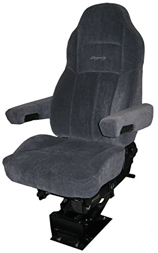 - Legacy Silver Air-ride Seat | Microfibre with D2 Technology - Gray