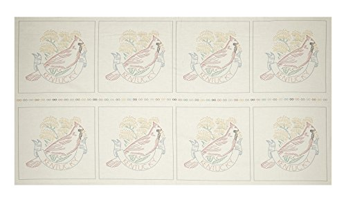Robert Kaufman Kaufman Birds of Liberty State 24in Panel Blocks Kentucky Fabric,