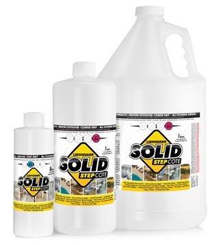 SolidStepCote 02 Professional Non Slip Floor Coating, Clear (8 oz) Liquiguard Technologies