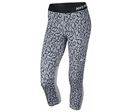 Nike Womens Pro Training Capris (x-small, grey) (Nike Basketball Goals)