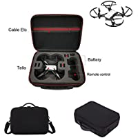 Carrying Case for For DJI Tello Drone New, Rucan Portable Shoulder Bag Case Protector EVA Internal Waterproof