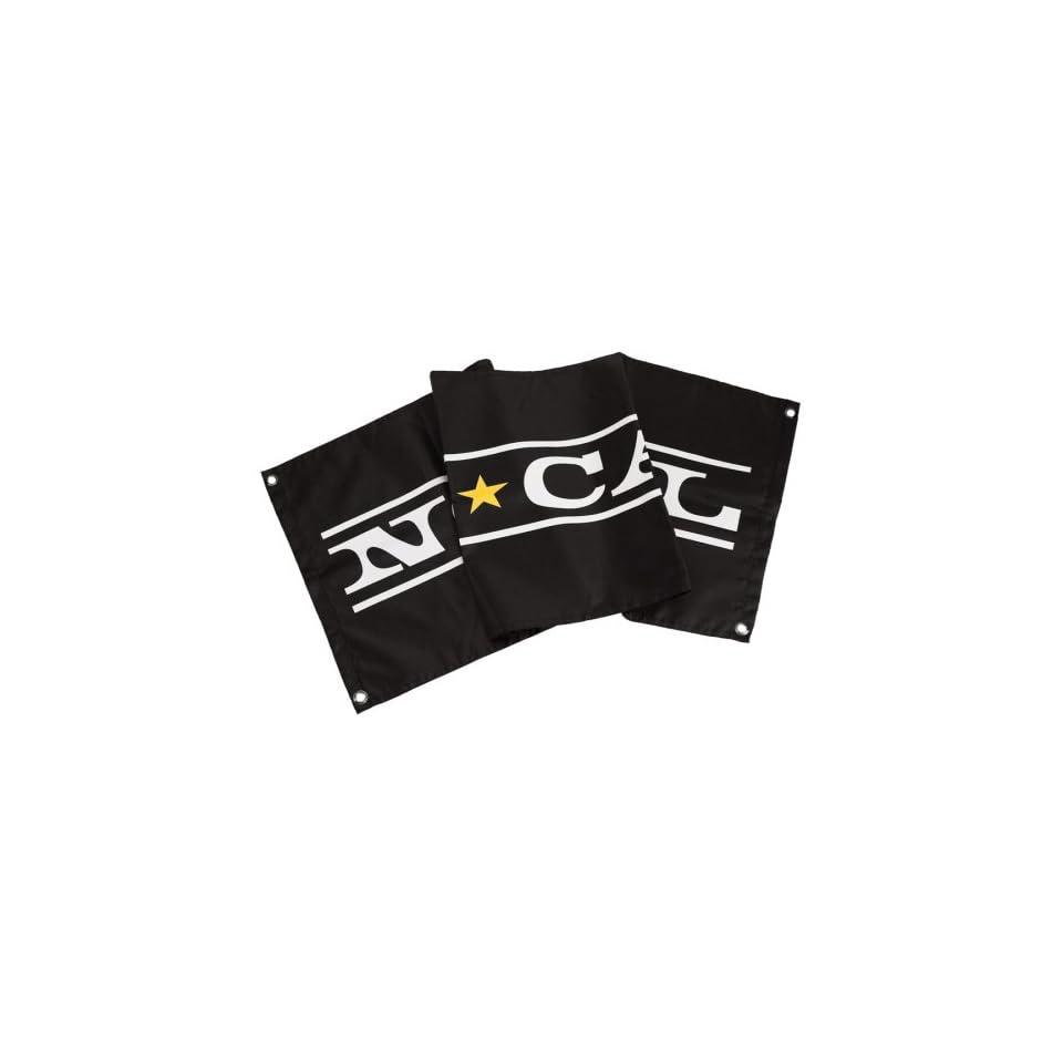 Nor Cal Black Mens Original Logo Flag