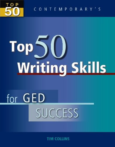 Top 50 Writing Skills for GED Success, Student Text Only (GED Calculators)