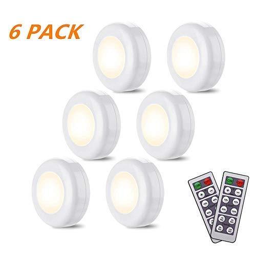 6 Pack Luz de Noche LED con Sensor de Movimiento, lámpara de pared ...