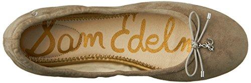 Sam Edleman Felicia - Bailarinas mujer Putty Kid Suede Leather 1