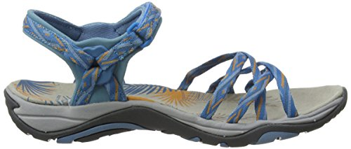 EU III Uk Blue Mujer Charcoal para Senderismo Blue Ladies 3 Charcoal 36 Martinique Sandalias Karrimor de Azul w54qagXg