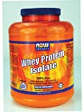 NOW Foods Sports Whey Protein Isolate Natural Unflavored — 5 lbs For Sale