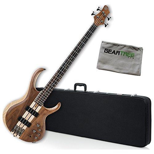 (Ibanez BTB740NTL BTB Standard Bass Guitar Natural Low Gloss w/Hard Case and)