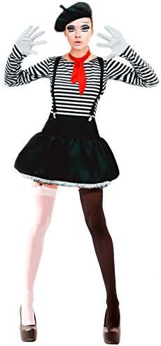 Disfraz Mimo mujer adulto para Carnaval M: Amazon.es: Juguetes y ...