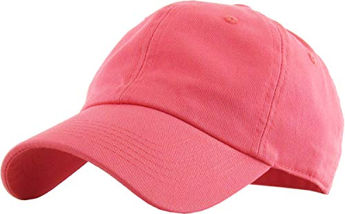 KB-Low COR Classic Cotton Dad Hat Adjustable Unconstructed Plain Cap