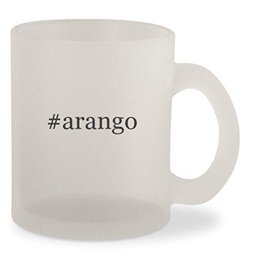 #arango - Hashtag Frosted 10oz Glass Coffee Cup Mug - Los Arango Tequila