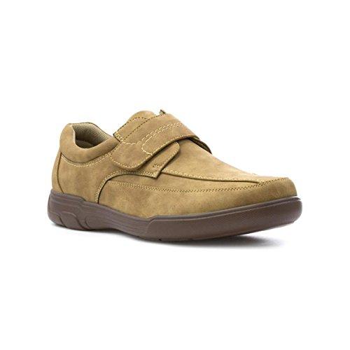 Hobos Mens Tan Easy Fasten Casual Shoe - Size 8 UK - Brown