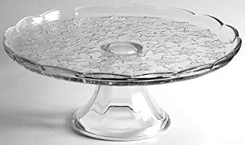 5202 - Princess House Crystal Cake Plate