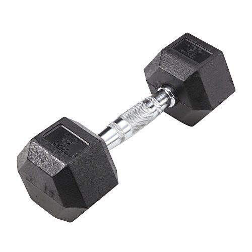 Rubber Coated Dumbbells 3 100 lbs