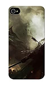 meilinF000Appearance Snap-on Case Designed For iphone 5/5s- Lin Wenjun Fantasy Dark Warrior Knight Bale Weapons Army Fire Art (best Gifts For Lovers)meilinF000