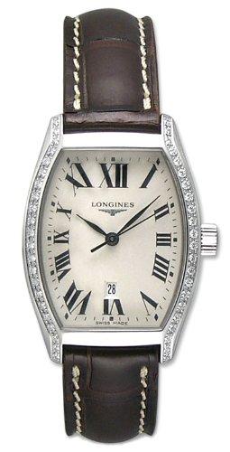 Longines Evidenza - Reloj de Pulsera para Mujer de Acero Inoxidable y Diamante L2.155.0.71.5: Amazon.es: Relojes