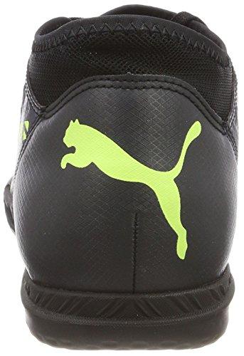 Puma Future 18.4 IT Jr, Zapatillas de Fútbol Unisex Niños Negro (Puma Black-fizzy Yellow-asphalt)