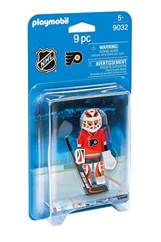 PLAYMOBIL NHL Philadelphia Flyers Goalie (Renewed)