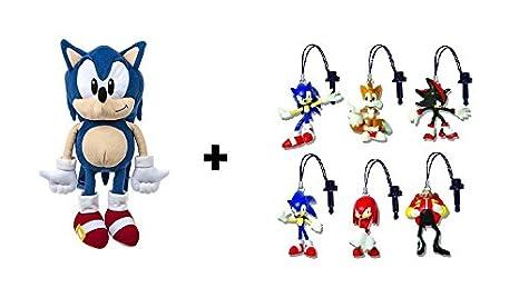 Sonic The Hedgehog Sac A Dos Peluche Herrison Bleu 36cm Qualite