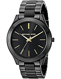 Women's Slim Runway Black Watch MK3221
