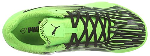 Puma Meteor Sala Lt - Zapatillas de fútbol sala Mujer Negro - Schwarz (black-green gecko 06)