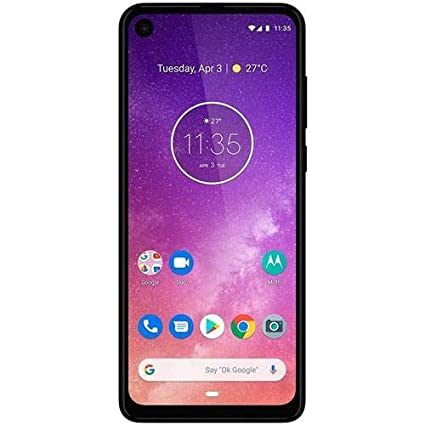 Motorola One Vision (128GB) 6.3 Full HD Display, 48MP Camera, Dual SIM US + GLOBAL 4G LTE GSM Factory Unlocked XT1970-1 - International Version ...