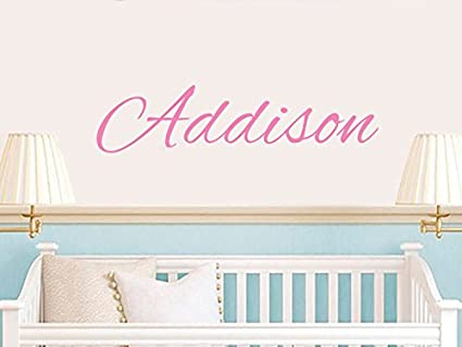 Personalized Name Wall Decal - Baby Name Decal - Nursery Name Decal - Boys Wall Decals  sc 1 st  Amazon.ca & Personalized Name Wall Decal - Baby Name Decal - Nursery Name Decal ...