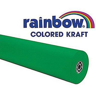 Rainbow Kraft 0063174 Duo Finish Kraft Paper Roll, 48