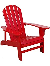 Marvelous Leigh Country TX 94050 Adirondack Chair, Red