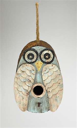 Essentials Wren Songbird House - Songbird Essentials Blue Owl Birdhouse