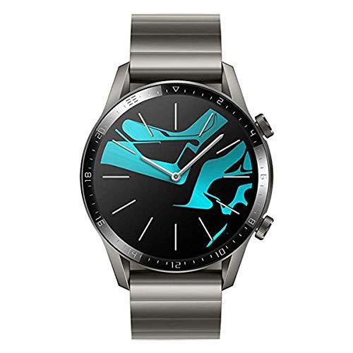HUAWEI 55024339 46 mm Watch GT2 with AMOLED Display, Latona Alloy