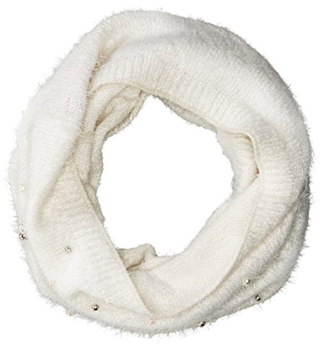 Betsey Johnson Women's Pearl Crazy Snood, Ivory, ONE SIZE ()