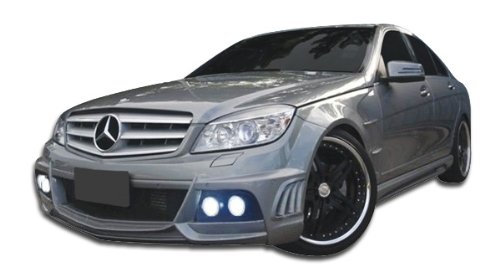 W-1 Body Kit - 6 Piece Body Kit - Fits Mercedes C Class 2008-2011