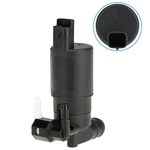 KKmoon Windscreen Washer Pump Window Washer Dual Pump 12V Twin Oultlet Windscreen Washer Pump: