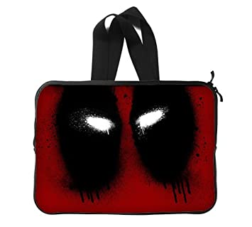 ee77fab4dede Deadpool Marvel Games Custom Laptop Sleeve Notebook Computer Bag Case 13  Inch (Twin Sides)  Amazon.co.uk  Computers   Accessories