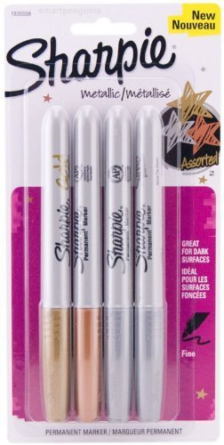 sharpie metallic 4 pack - 7