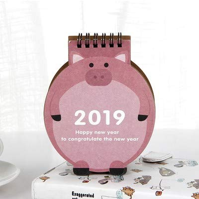 Amazon.com : Taka Co Desk Paper Organizer 2018-2019 Kawaii ...